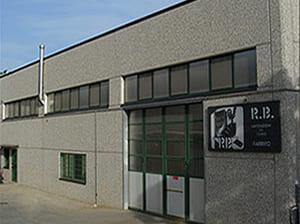 Esterno azienda RB Fabbro a Bologna