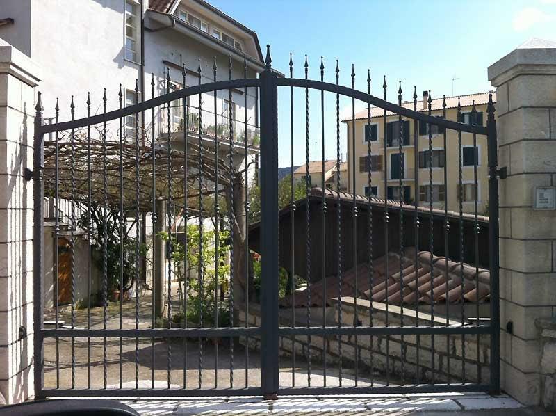 Cancello in ferro Bologna - RB Fabbro