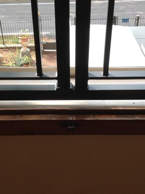 Cilindro inferriata per finestra