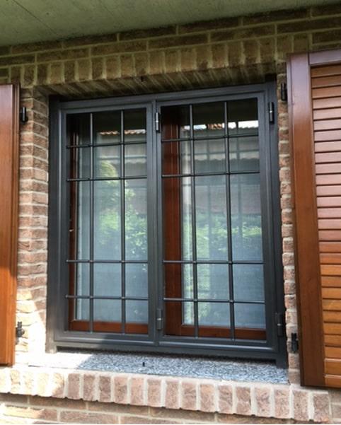 Inferriata finestra modello standard