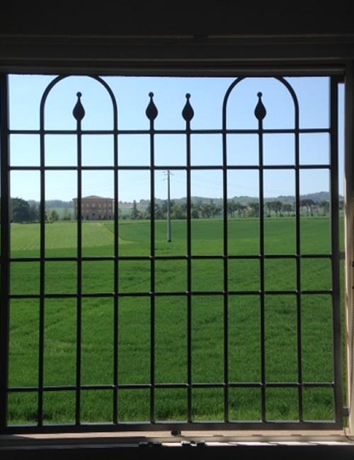 Inferriata fissa finestra