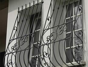 Inferriate sulle finestre