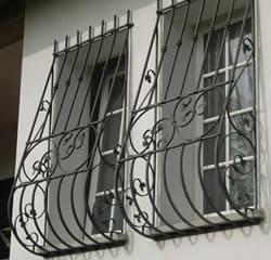 Inferriate finestra Fisse