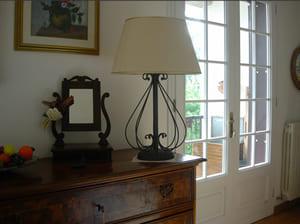 Arredamento interno - Lampada in ferro