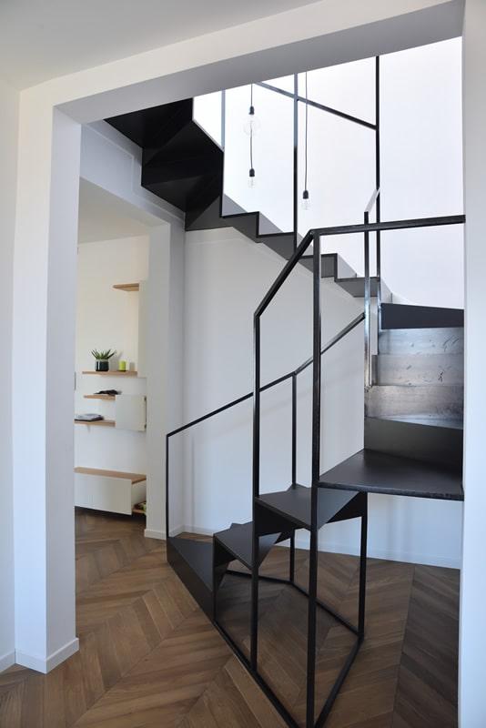 Scala indoor stile moderno